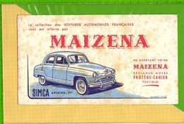 Buvard & Blotting Paper : MAIZENA SIMCA 4 Places 7 CV - Automobile