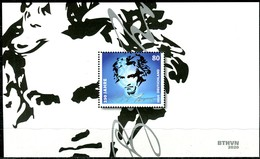 BRD - Mi Block 85 = 3513 - ** Postfrisch - 80C                Ludwig Van Beethoven - Ausgabe 02.01.2020 - [7] Federal Republic