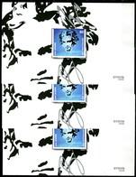 BRD - 3x Mi Block 85 = 3513 - ** Postfrisch - 80C                Ludwig Van Beethoven - Ausgabe 02.01.2020 - [7] West-Duitsland