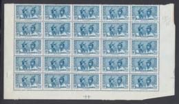 Martinique 1938 - Timbres Neufs (MNH). Mi Nr.: 149 - Part De Feuille - 25 Timbres ..... (VG) DC5385 - Nuevos