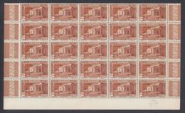 Réunion 1933 - Timbres Neufs (MNH). Yvert Nr.: 141 -Part Feuille Avec 25 Timbres ..... (VG) DC5388 - Réunion (1852-1975)
