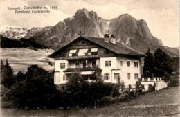 Dolomiti: Castelrotto - Pensione Castelrotto (2969) - Non Classificati