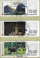 2015 - KEBNEKAISE MOUNTAIN, STOCKHOLM CITY HALL & MOOSE (Alces Alces) - Vignette Di Affrancatura (ATM/Frama)