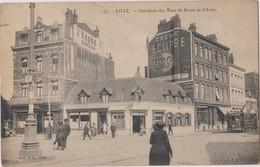 Rare CP LILLE Carrefour Des Rues De Douai Et D'Arras - Lille