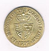 TOKEN 1797   GROOT  BRITANNIE /19/ - Groot-Britannië