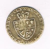 TOKEN 1790   GROOT  BRITANNIE /20/ - Groot-Britannië