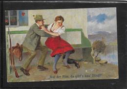 AK 0397  Auf Der Alm Da Gibt' S Koa' Sünd ! - Künstlerkarte Um 1910-20 - Humor