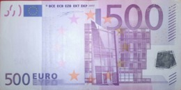 500 EURO ALEMANIA(X), R003A, Low Nummer,DUISEMBERG - EURO