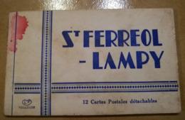 CARNET DE 12 CPA COMPLET : SAINT-FERREOL-LAMPY REVEL DUFORT 31 - Saint Ferreol