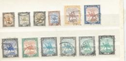 Sudan 1927-41 Used Inc Sg 38,41+ Shade,43,44,44b,44c,45, 45b+shade, 45c+shade ,46b 2 Scans - Sudan (...-1951)