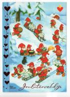 Postal Stationery HEART ASSOCIATION - FINLAND - Postage Paid - 2010 - GNOMES & CAT - STAMP BIRDS & RABBIT - Finlandia
