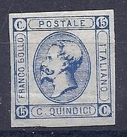 190032430  ITALIA  YVERT    Nº  11  */MH - 1861-78 Victor Emmanuel II.