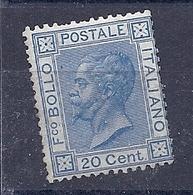 190032435  ITALIA  YVERT    Nº  23a  **/MNH - 1861-78 Victor Emmanuel II.