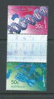 Australia 2003 Genetics Gutter Pair MNH - 2000-09 Elizabeth II