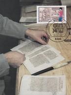 Germany Maximum Card 1987: Crafts; Handswerkberufe; Book Making; Bookbinder; Buchbinder; - Berufe
