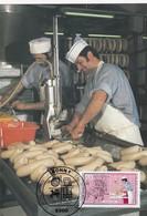 Germany Maximum Card 1987: Crafts; Handswerkberufe; Metzger Butcher; Abfüllen Der Würste - Berufe