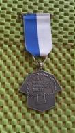Medaille :Netherlands  -  .W.S.V Speeltuin Bomenwijk Beukenlaan 1 Delft   / Vintage Medal - Walking Association . - Pays-Bas