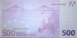 500 EURO BELGICA(Z), T001 Año 2002,DUISEMBERG - EURO
