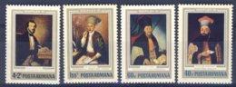 1973-(MNH=**) Romania Serie 4 Valori Quadri - 1948-.... Repubbliche