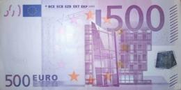 500 EURO ALEMANIA(X) Low Nummer, R012A Año 2002, Segunda Firma TRICHET - EURO