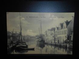 44-MALINES MECHELEN  De Dijle La Dyle Bateau Boat Peniche **ENVOI GRATIS VERZENDING FREE SHIPPING** - Mechelen