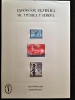 """Spain, Uncirculated Stamped Stationery, """"Exposición Filatelica De America Y Europa"""", Barcelona, 1977 - Sin Clasificación"""