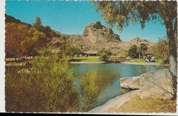 Scottsdale AZ Del Webb Mountain Shadows Hotel Resort Paradise Valley Postcard - Scottsdale