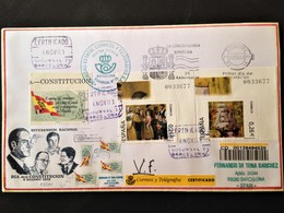Spain, Registered Circulated Cover, 2003 - Sin Clasificación