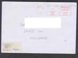 EGYPT, COVER  / FRANKED CANCEL, REPUBLIC OF MACEDONIA** - Brieven En Documenten