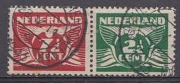 Pays-Bas 1941 Mi.nr: 381+175  Fliegende Taube  Oblitérés / Used / Gest. - Gebraucht