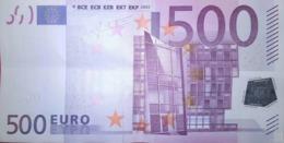 500 EURO ALEMANIA(X) Low Nummer, R013, Año 2002, Segunda Firma TRICHET - EURO