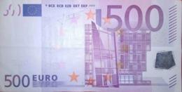 500 EURO ALEMANIA(X) Low Nummer, R010, Año 2002, Segunda Firma TRICHET - EURO