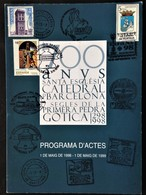 """Spain, Sheetlet, """"700 Years Of Cathedral"""", Barcelona,  1999 - Unclassified"""