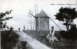 15 ALLY CALVAIRE ET MOULIN A VENT - Frankreich