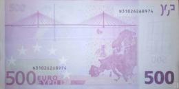 500 EURO AUSTRIA(F), F003A, Año 2002, Segunda Firma TRICHET - EURO