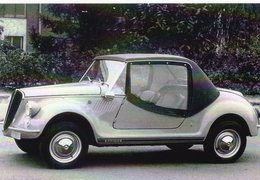 Fiat 600 Gamine Vignale   -   1969      -  CPM - Voitures De Tourisme
