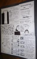 Série Complète De 8 Cartes Postales (numérotées 1 à 8) Verdon Assassinat (illustration : Filipandré) - Filipandre