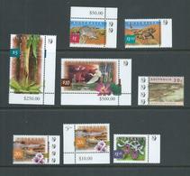 Australia 2000 's Definitives X 8 To $10 Kakadu , All Marginal With Kangaroo Or Koala Reprint Symbols MNH - 2000-09 Elizabeth II