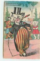 N°14096 - Alphonse Pour Les Dames ! - Chats Habillés - Geklede Dieren