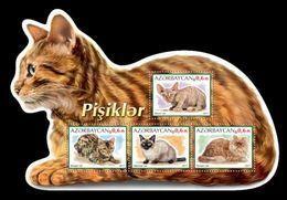 Azerbaïjan (KM) 2017 No. 105/08 Fauna. Cats MNH ** - Azerbaïjan