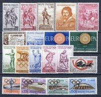 ITALIA  REPUBBLICA 1960 - COMMEMORATIVI-  == MNH** - 1946-.. République