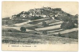 89 - Vezelay Vue Generale - Vezelay