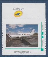 = Le TBM 700 De La Base Aérienne 106 De Bordeaux Mérignac Avec BdF Et Logo La Poste TVP LV - Personalizzati (MonTimbraMoi)