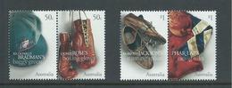 Australia 2005 Sporting Treasures Set Of 2 Pairs MNH - 2000-09 Elizabeth II
