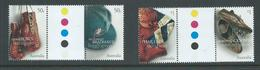 Australia 2005 Sporting Treasures Set Of 2 Gutter Pairs MNH - 2000-09 Elizabeth II