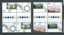 Australia 2004 Tasmania Bicentenary Set Of 2 Gutter Blocks Of 4 MNH - 2000-09 Elizabeth II