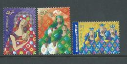 Australia 2004 Christmas Set Of 3 MNH - 2000-09 Elizabeth II