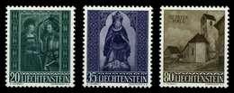 LIECHTENSTEIN 1958 Nr 374-376 Postfrisch X6F6A3E - Liechtenstein