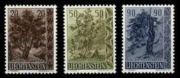 LIECHTENSTEIN 1958 Nr 371-373 Postfrisch X6F6A2A - Liechtenstein