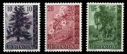 LIECHTENSTEIN 1957 Nr 357-359 Postfrisch X6FE13A - Liechtenstein